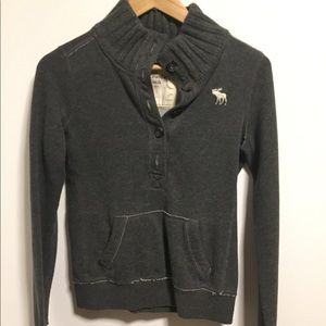 Abercrombie & Fitch Sweater Dark Gray